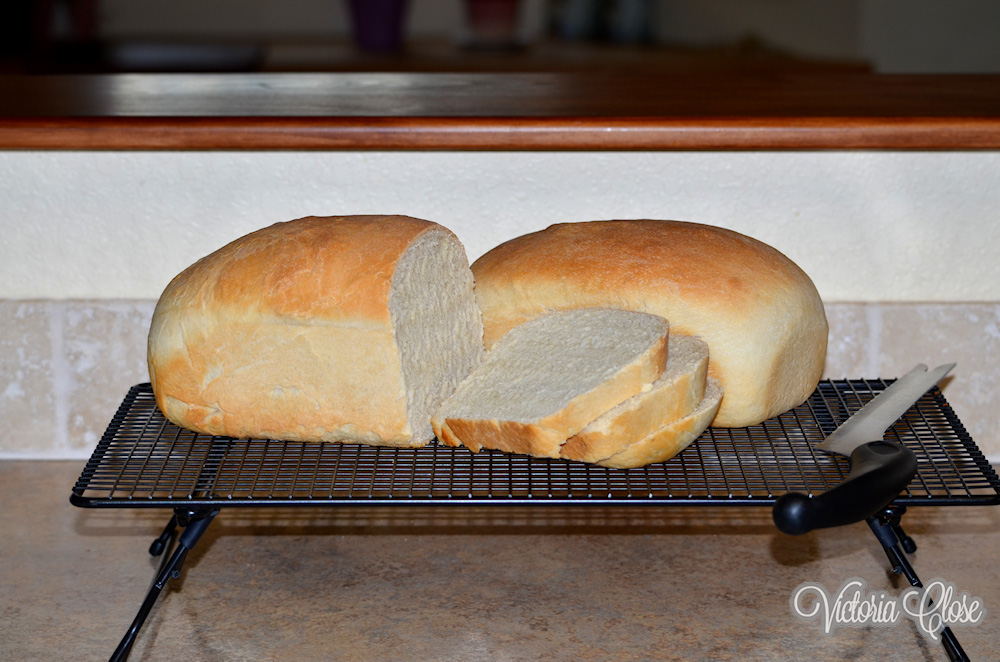 Tori's Homemade Bread