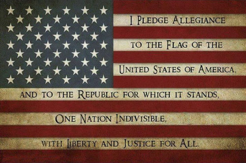 A Little Bit of History – The Pledge of Allegiance